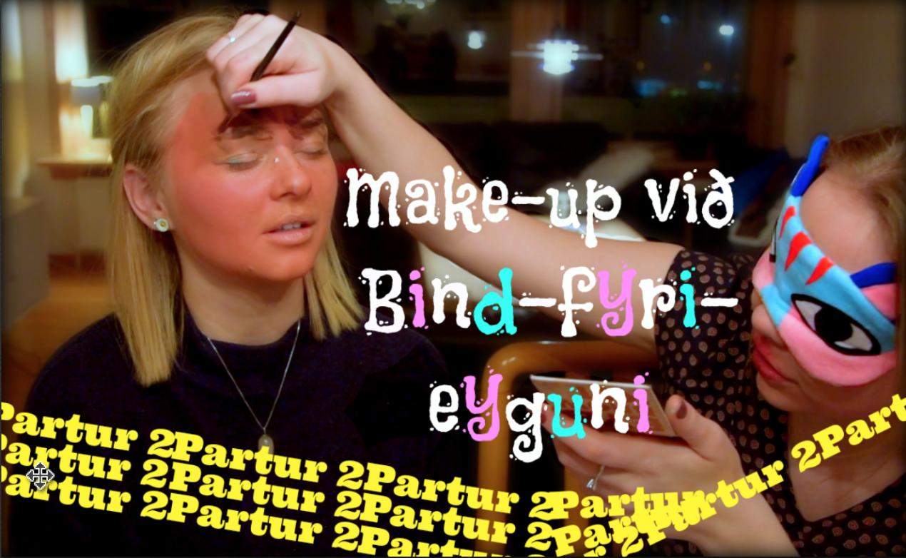 Makeup bind fyri eyguni partur 2