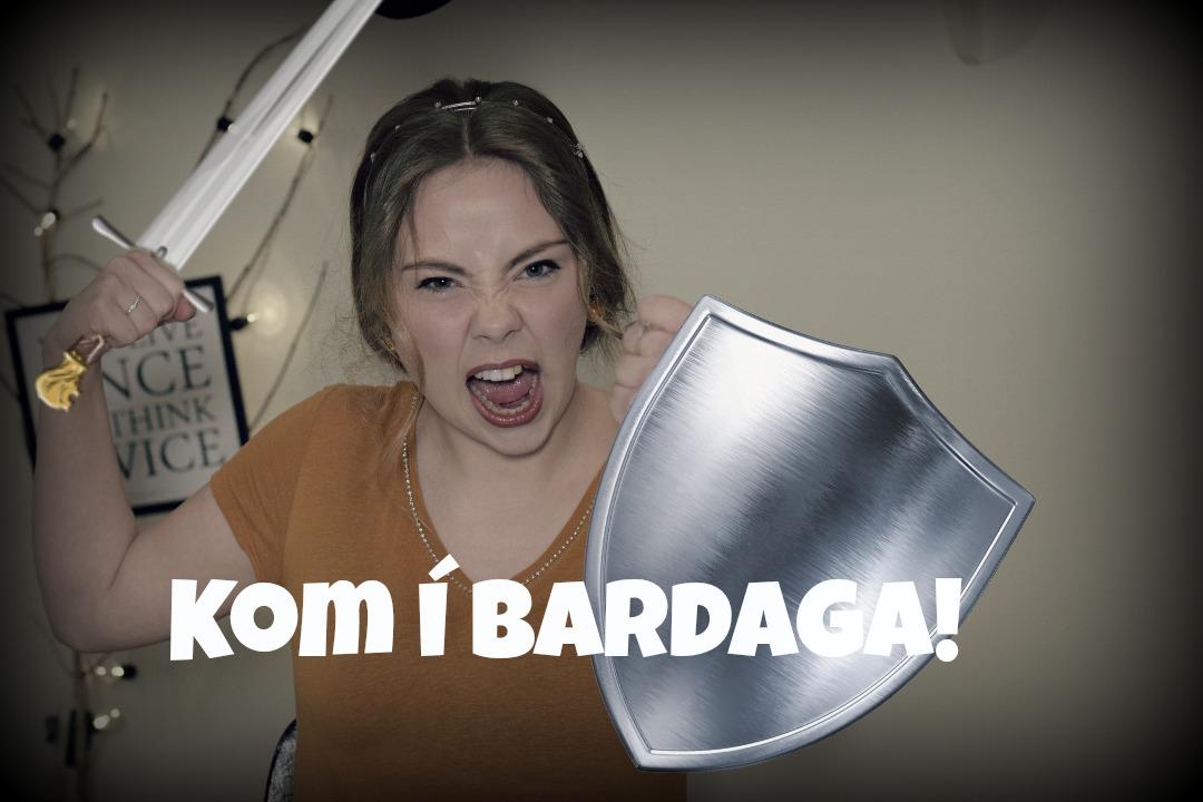 KOM I BARDAGA Í BØN