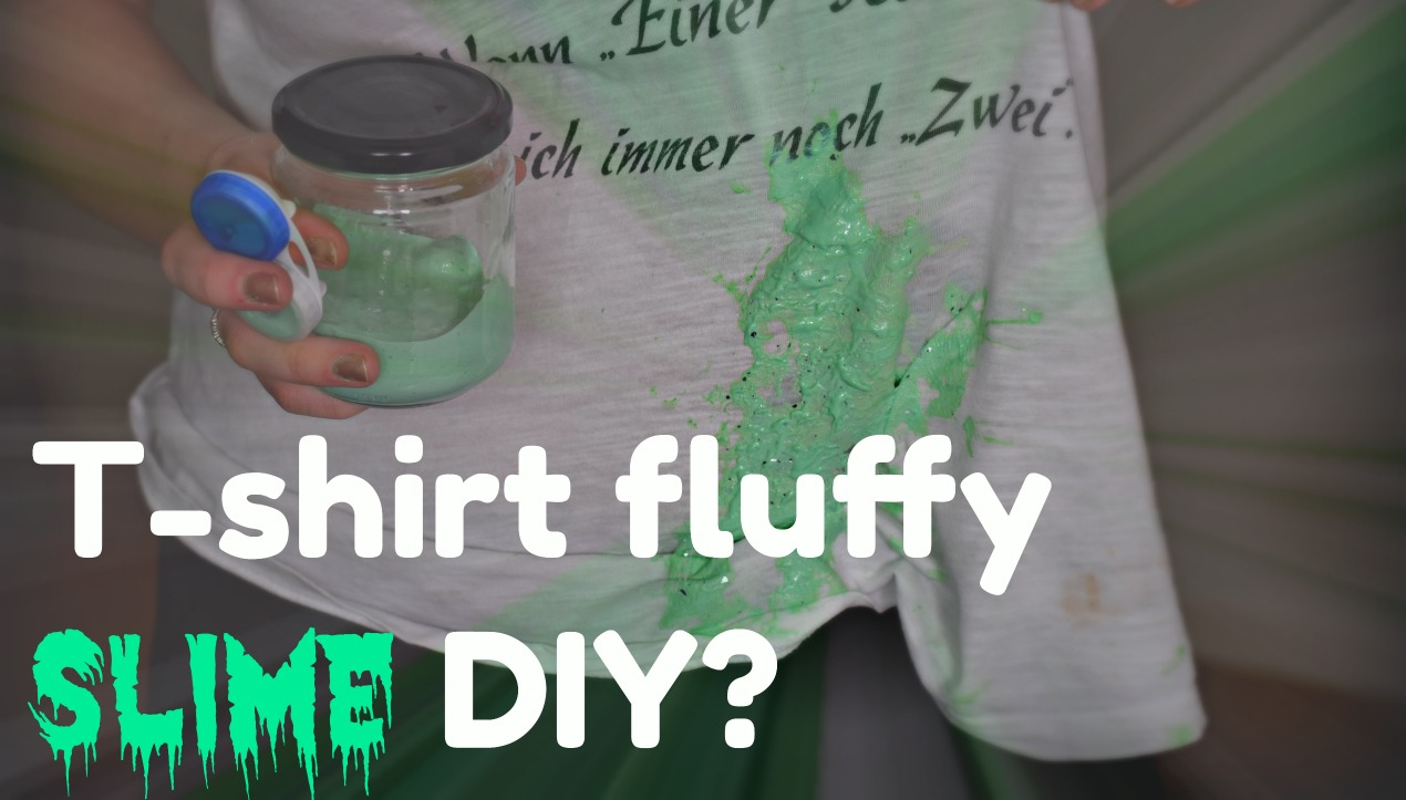 T-SHIRT FLUFFY SLÍM? 🙊 // Skapandi #12