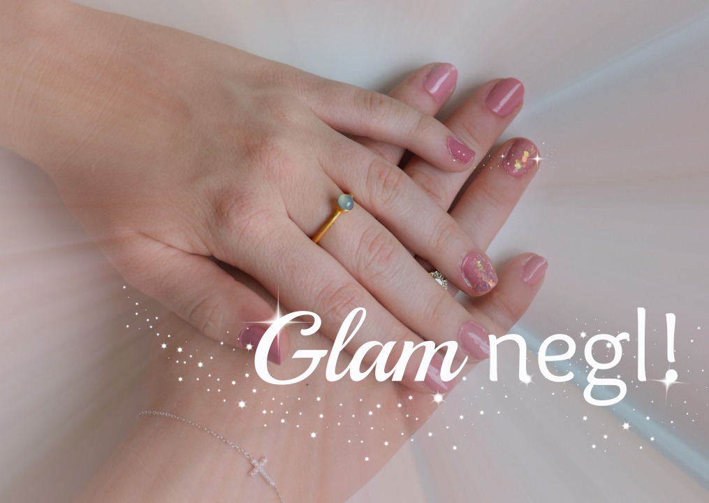 GLAM NEGLl! 💅✨// Skapandi #16