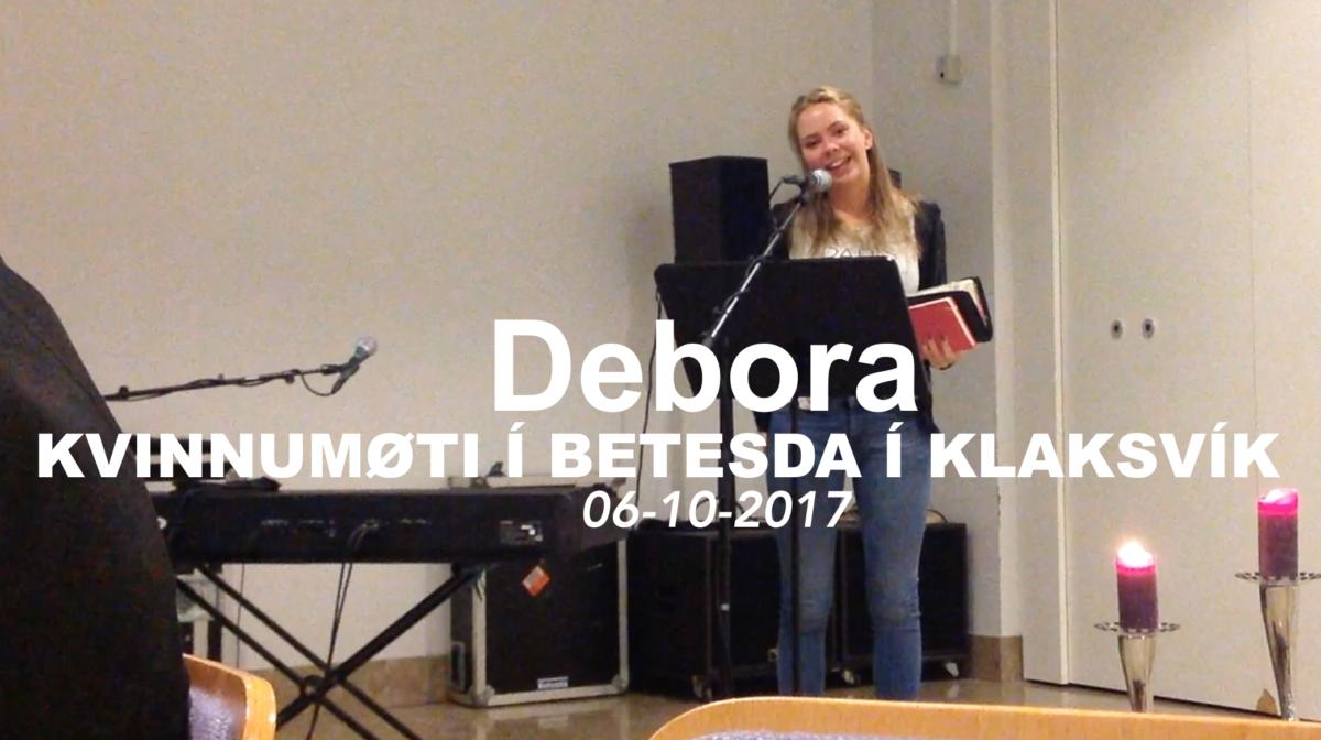 Debora, kvinnumøti í Klaksvík í Betesda