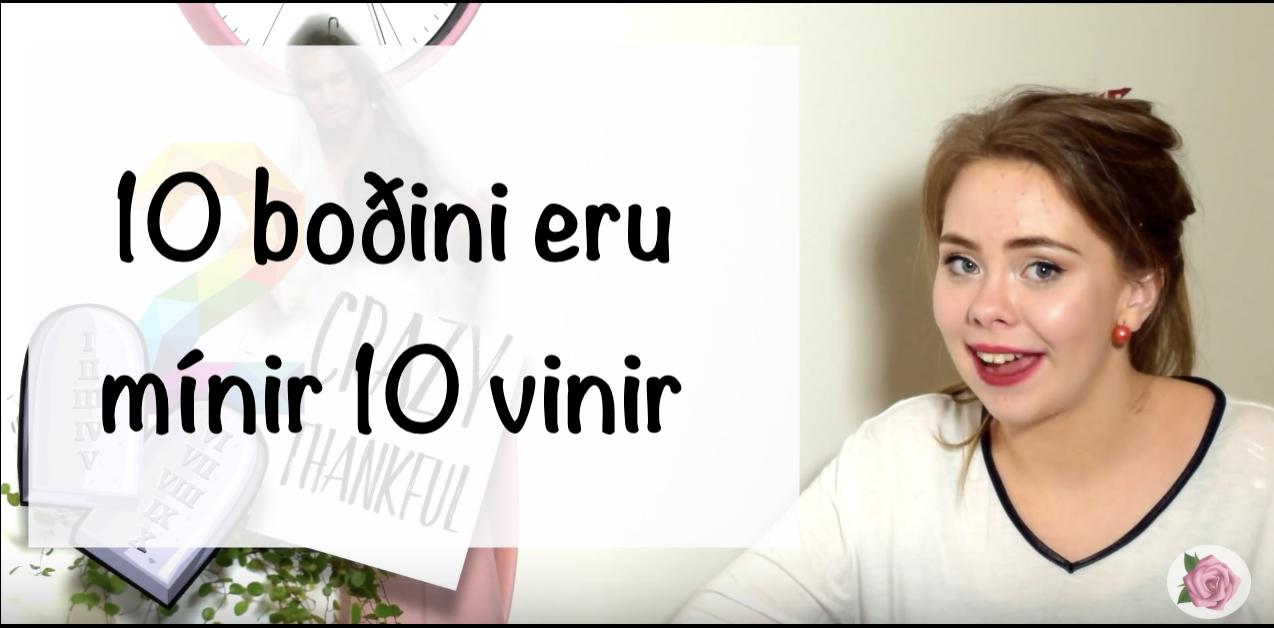 10 boðini, mínir 10 vinir