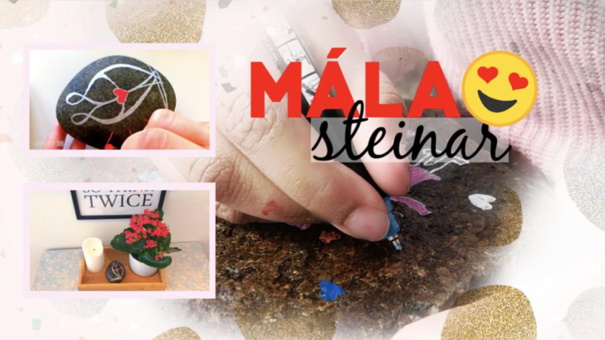 MÁLA STEINAR // Skapandi #23
