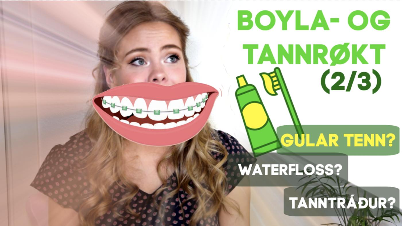 Waterfloss? Gular tenn? Tanntráður? // BOYLA- OG TANNRØKT (2/3)