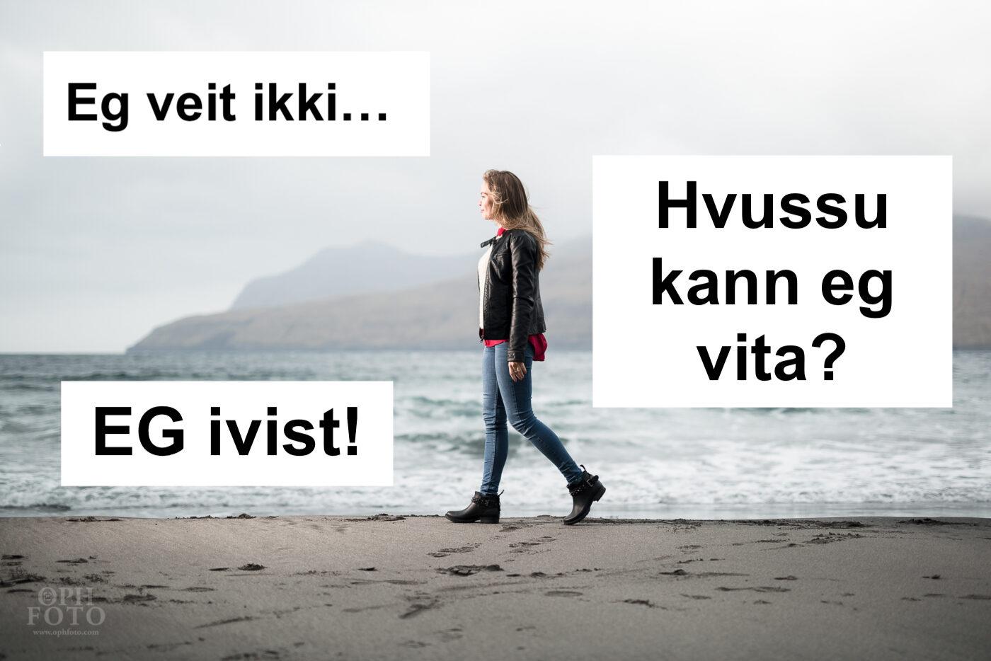 HVUSSU ER MAN SIKKUR Í, AT MAN ER KRISTIN? // Prátiðpodcast #8