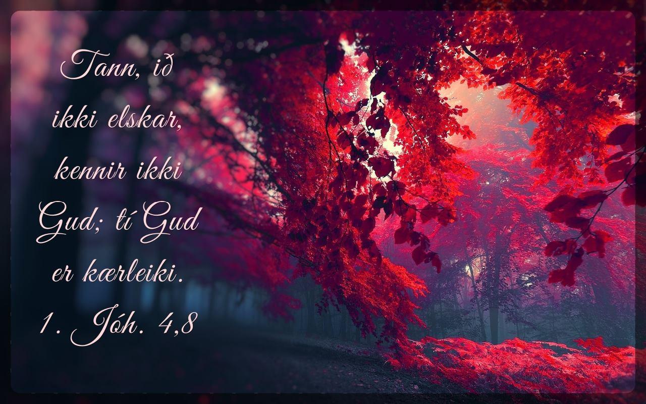 Gud er kærleiki